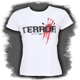 Damen T-Shirt  Terror - Bloody Hand, Buckaneer, Terror