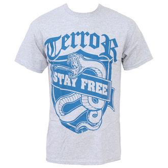 Herren T-Shirt Terror - Stay Free, Buckaneer, Terror