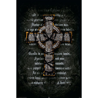 Poster Gothic Cross - Rolled, Reinders