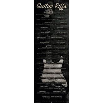 Poster Guitar - Riffs, Reinders