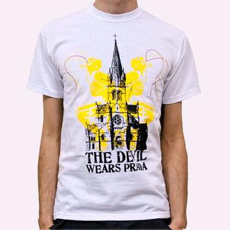 Herren T-Shirt Devil Wears Prada - Church - White, KINGS ROAD, Devil Wears Prada