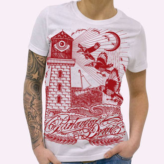 Damen T-Shirt  Parkway Drive - Lighthouse - White, KINGS ROAD, Parkway Drive
