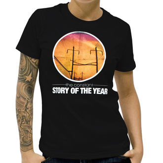 Damen T-Shirt  Story Of The Year - The Constant - Black, KINGS ROAD, Story of the Year