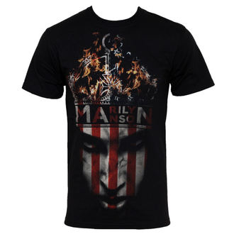 Herren T-Shirt Marilyn Manson - Crown - BRAVADO USA, BRAVADO, Marilyn Manson