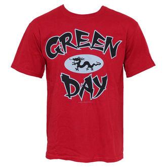 Herren T-Shirt Green Day - Ghina Dragon, BRAVADO, Green Day