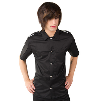 Herrenhemd  Aderlass - Army Shirt Black Denim, ADERLASS