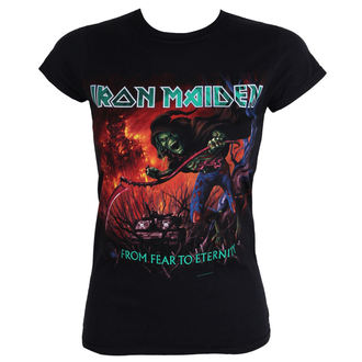 Damen T-Shirt  Iron Maiden - From Fear To Eternity - EMI, ROCK OFF, Iron Maiden