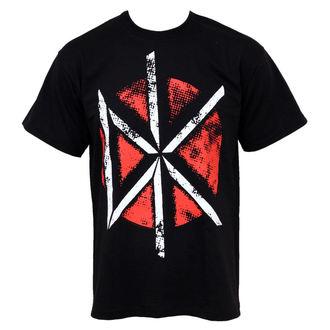 Herren T-Shirt Dead Kennedys - Distressed DK Logo, PLASTIC HEAD, Dead Kennedys