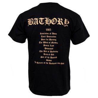 Herren T-Shirt Bathory - The Return, PLASTIC HEAD, Bathory