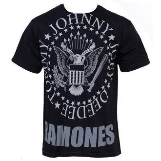Herren T-Shirt Ramones - Hey Ho Lets Go - LIQUID BLUE - 31966