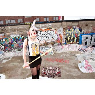 Damen Tank Shirt  CRIME CITY CLOTHING - Droogs Don´t Run, CRIME CITY CLOTHING