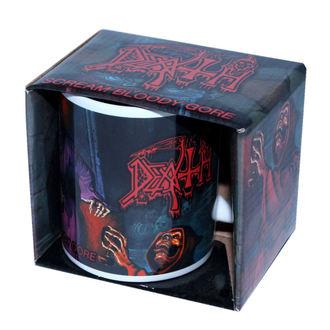 Keramiktasse  (Pott) Death - ROCK OFF, ROCK OFF, Death