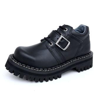 Lederstiefel/Boots KMM 4-Loch - Black Monster 1P, KMM
