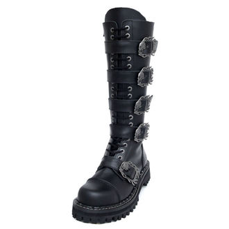 Lederstiefel/Boots KMM 20-Loch - Big Skulls Black Monster 5P - 205