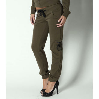 Hose (Trainingshose) Damen METAL MULISHA - Recon - Military Green - M31709301