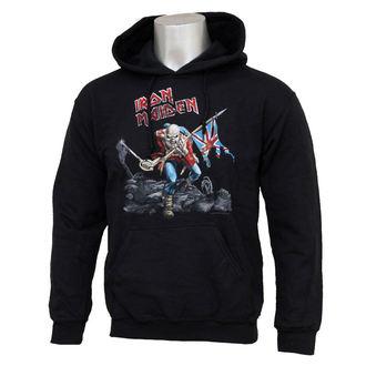 Herren Hoodie   Iron Maiden - Trooper - IMHOOD02MB, ROCK OFF, Iron Maiden