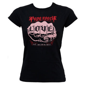 Damen T-Shirt  Papa Roach - Love - EMI, ROCK OFF, Papa Roach
