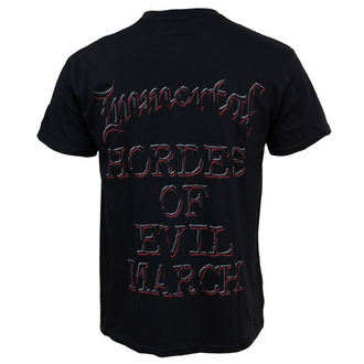 Herren T-Shirt Immortal - Damned In Black, RAZAMATAZ, Immortal