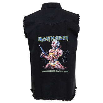 Herren Weste Iron Maiden - Somewhere Back In Time, RAZAMATAZ, Iron Maiden