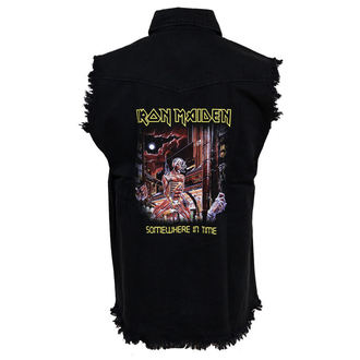 Herren Weste Iron Maiden - Somewhere In Time, RAZAMATAZ, Iron Maiden