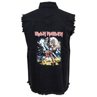 Herren Weste Iron Maiden - The Number Of The Beast, RAZAMATAZ, Iron Maiden