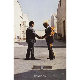 Poster Pink Floyd - Wish You Were Here - LP1445, GB posters, Pink Floyd