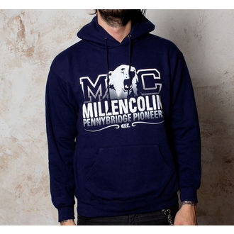 Herren Hoodie  Millencolin - Bear Logo - Navy