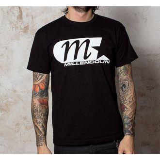 Herren T-Shirt Millencolin - Logo - Black - BUCKANEER