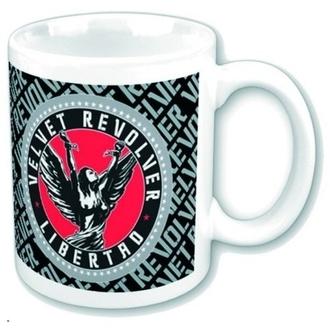 Keramiktasse  (Pott) Velvet Revolver - Circle Logo, ROCK OFF, Velvet Revolver