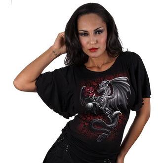 Damen T-Shirt  SPIRAL - Dragon Rose - TR326237