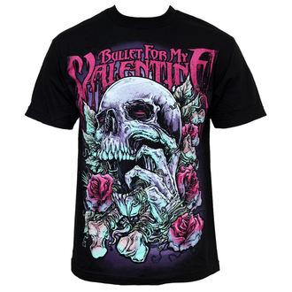 Herren T-Shirt  Bullet For My Valentine - Skull RD - BRAVADO, BRAVADO EU, Bullet For my Valentine