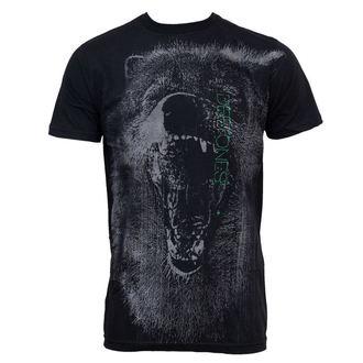 Herren T-Shirt Deftones - Neon Wolf 30/1, BRAVADO, Deftones