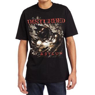 Herren T-Shirt Disturbed  - Asylum Shred, BRAVADO, Disturbed