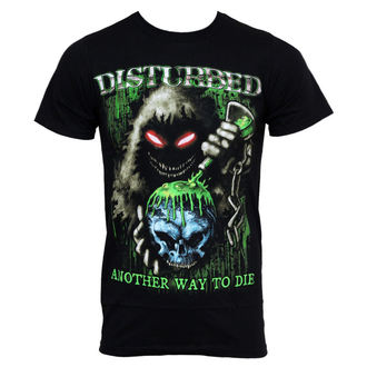 Herren T-Shirt Disturbed  - Toxic Globe, BRAVADO, Disturbed