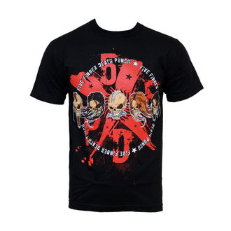 Herren T-Shirt Five Finger Death Punch - 5XFXDXPX, BRAVADO, Five Finger Death Punch