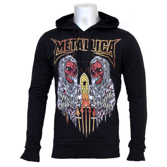 Herren Hoodie  Metalllica - Sanitarium - 13592111, BRAVADO, Metallica