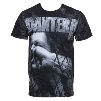 Herren T-Shirt Pantera - Vulgar All Over - Volldruck, BRAVADO, Pantera