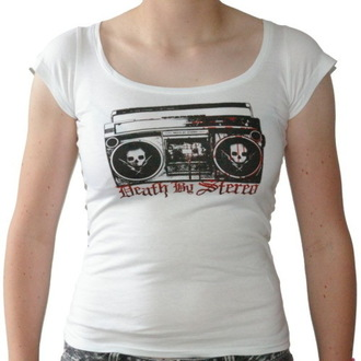 Damen T-Shirt  Death By Stereo - Ghettoblaster - RAGEWEAR, RAGEWEAR, Death by Stereo