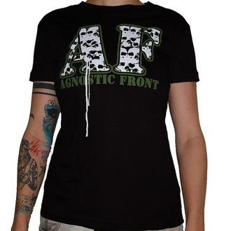 Damen T-Shirt  Agnostic Front - Skulls - RAGEWEAR, RAGEWEAR, Agnostic Front