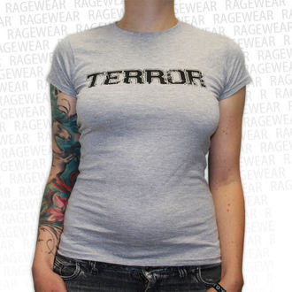 Damen T-Shirt  Terror - New Blood - Grey - RAGEWEAR, RAGEWEAR, Terror