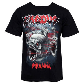 Herren T-Shirt Exodus - Piranha - JSR, LIVE NATION, Exodus