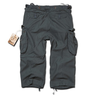 Herren Shorts   3/4 BRANDIT - Industry Vintage Anthracite, BRANDIT