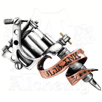 Gürtelschnalle Tattoo Gun ALCHEMY GOTHIC, ALCHEMY GOTHIC