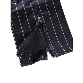 Slacks Damen 3/4 Mode Wichtig - Zip Slacks Pin Stripe - M-1-70-050-01