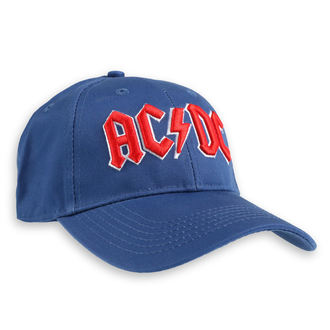Kappe Cap AC / DC - Red Logo Mid-Blue - ROCK OFF, ROCK OFF, AC-DC
