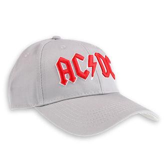 Kappe Cap AC / DC - Red Logo Grey - ROCK OFF, ROCK OFF, AC-DC