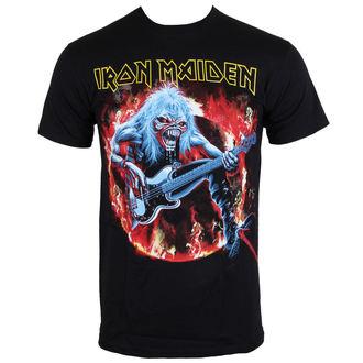 Herren T-Shirt Iron Maiden - Fear Live Flames - EMI, ROCK OFF, Iron Maiden