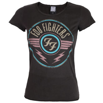 Damen T-Shirt Metal Foo Fighters - CHARCOAL - AMPLIFIED, AMPLIFIED, Foo Fighters