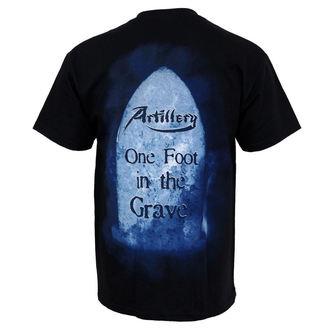 Herren T-Shirt Artillery - One Foot In The Grave, MUSICAT, Artillery