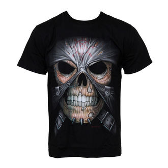 Herren T-Shirt HERO BUFF - Skull And Skin